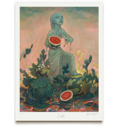 Print Melon by JAMES JEAN