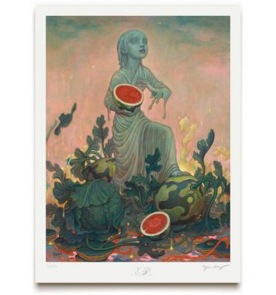 Print Melon by JAMES JEAN