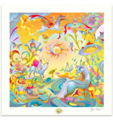Print SummerCarnival of Dreams by JAMES JEAN