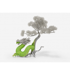 Sculpture Dragon Tree by LUDO