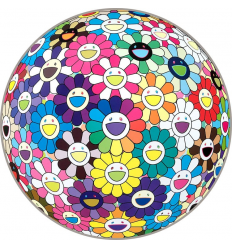 Print FLOWERBALL ,THOUGHTS ON MATISSE by TAKASHI MURAKAMI