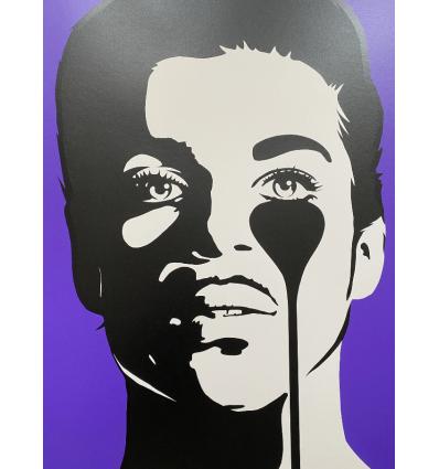 Affiche Prince Purple Rain by PURE EVIL