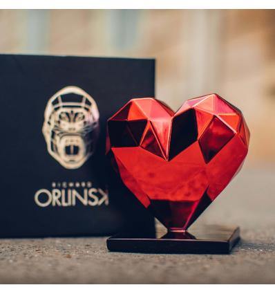 Sculpture Heart Spirit Red Edition by Richard Orlinski