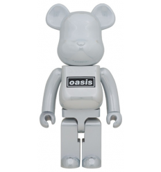 Sculpture bearbrick1000% Oasis White Chrome[PREORDER]