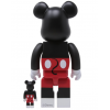Sculpture bearbrick 400% & 100% Bearbrick Set - Mickey Mouse