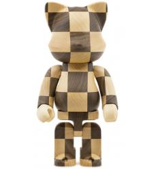 Sculpture 400% Bearbrick Karimoku Nyarbrick Chess Version