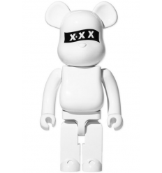 Sculpture 1000% Bearbrick - God Selection XXX WHITE