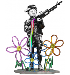 Sculpture Crayon Shooter by Brandalised x Banksy