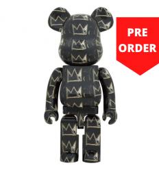 Sculpture 1000% Bearbrick - Jean-Michel Basquiat v8 [Pre Order]