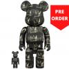 Sculpture 400+100% Bearbrick - Jean-Michel Basquiat v8 [Pre Order]