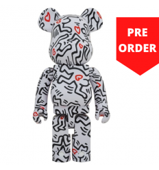 Sculpture 1000% Bearbrick - Keith Haring v8 [Pre Order]