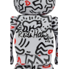 Sculpture 400+100% Bearbrick - Keith Haring v8 [Pre Order]