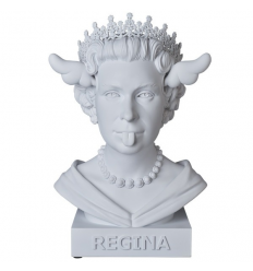 Sculpture Dog save the Queen Bust by D*Face by D*FACE