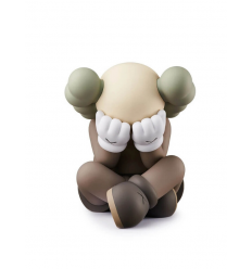 Sculpture SEPARATED BROWN by KAWS