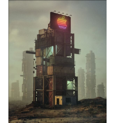Print ONE TRILLION DOLLARS by BEEPLE