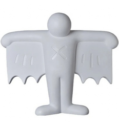 Sculpture Flying Devil Statue White by Keith Haring [Pre Order]