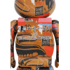 Sculpture 1000% Bearbrick Andy Warhol x Jean-Michel Basquiat (V2 [Pre Order]