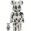 Sculpture 400% & 100% Bearbrick set - Flying Balloon Girl (Banksy) [Pre Order]