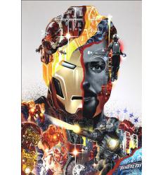 Print IRON MAN by Tristan Eaton