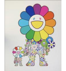 Print FLOWER PARENT AND CHILD by TAKASHI MURAKAMI