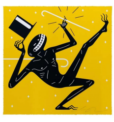 Print CANCELED YELLOW by CLEON PETERSON