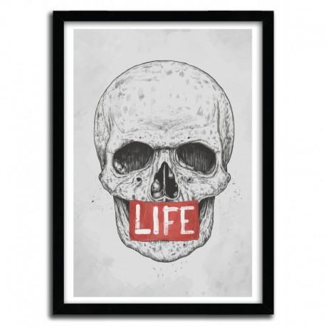 Affiche LIFE par BALAZS SOLTI