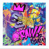 Print RAW ! Purple by Richard Orlinski
