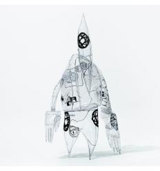 Sculpture FL-006 by FUTURA