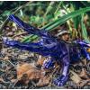 Sculpture CROCO Spirit Purple Edition by Richard Orlinski
