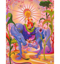 Print SOLARIA BTS SEVEN PHASES by JAMES JEAN