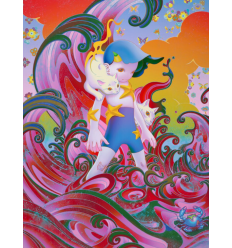 Print MEOWTIDE BTS SEVEN PHASES by JAMES JEAN
