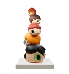 Sculpture HEADS by JAVIER CALLEJA
