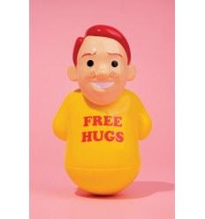 Sculpture FREE HUGS by JOAN CORNELLA
