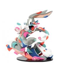 Sculpture A Wild Hare Bugs Bunny Figure by LOUIS DE GUZMAN