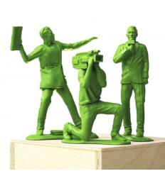 Sculpture Information Warfare by IMBUE