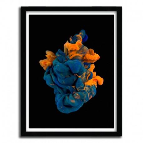 Affiche BLACKGROUND 8 by ALBERTO SEVESO