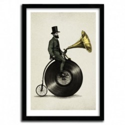 Affiche MUSIC MAN by Eric Fan