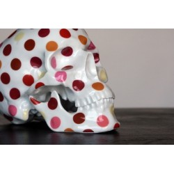 Skull Polka dot by NooN