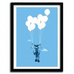 Affiche BALLON SWING by CARBINE