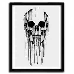 Affiche DRIPPING SKULL by CARBINE