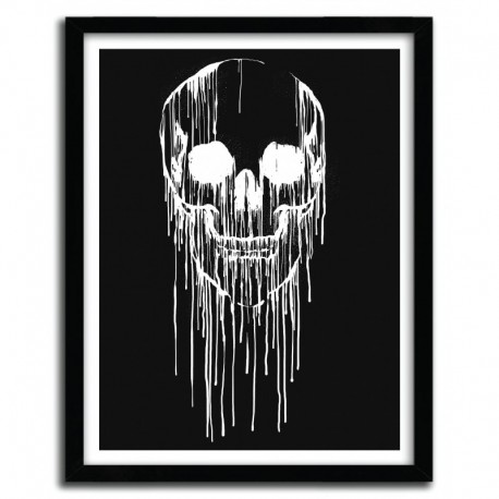 Affiche DRIPPING SKULL B by CARBINE