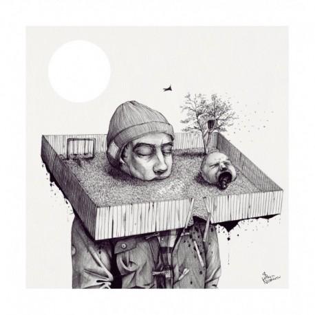 Affiche KID, DRAW ME A HOUSE BY SLAVA NESTEROV