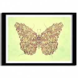 Affiche BUTTERFLY by MIKE KOUBOU