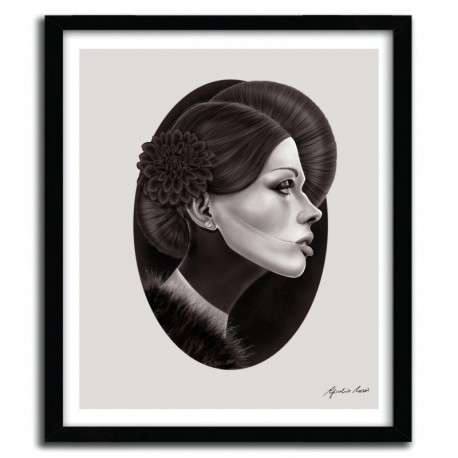 Affiche THE BLACK DAHLIA by GIULIO ROSSI