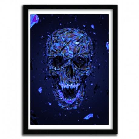 Affiche DISSOLVE BLUE by Mart Biemans