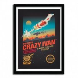Affiche CRAZY IVAN by VICTORSBEARD