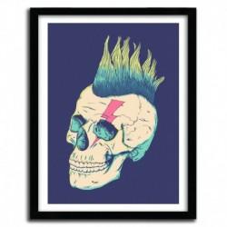 Affiche SKULL PUNK by VICTORSBEARD