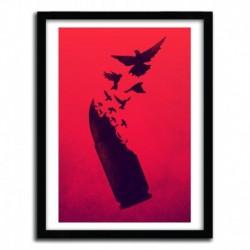 Affiche BULLET BIRDS by VICTORSBEARD