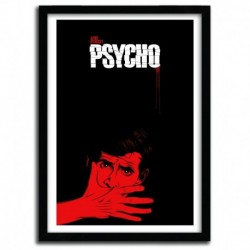 Affiche Psycho by CRANIODSGN