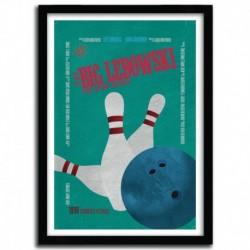 Affiche BIG LEBOWSKI by AYCAN YILMAZ